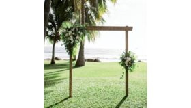 Image of a Rustic Plantation Arch