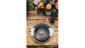 Image of a King Dining Table - Rustic Plantation Style