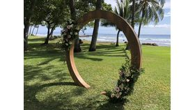 Image of a Plantation Circle arch