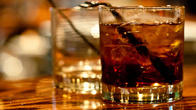 Image of a Whiskey and Coke Cocktail