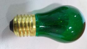 Image of a Green A-15 Festoon Bulbs