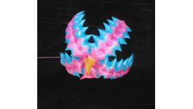 Image of a Air Sculpture - Pink & Blue Spike Flower