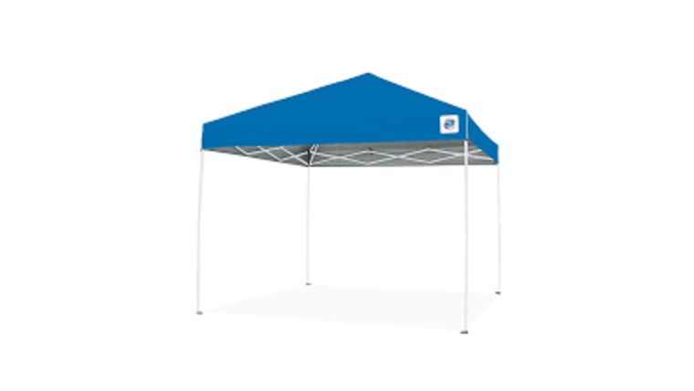 Picture of a 10 x 10 Blue Pop Up Tent