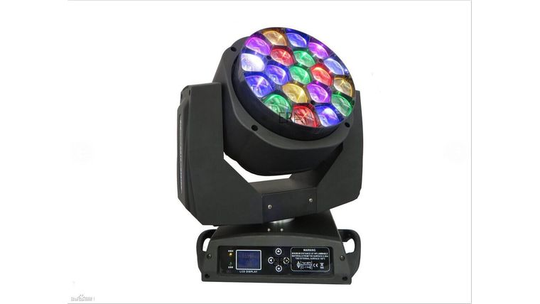 Picture of a 19x3W LED B-EYE Moving Head Light Fixture