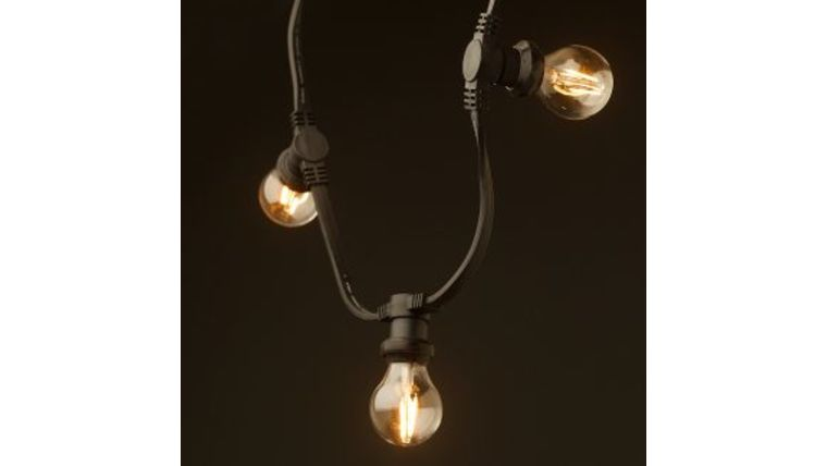 Picture of a Festoon Light Strand-50ft