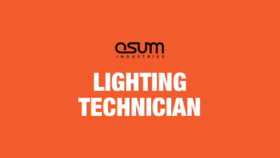 Image of a Lighting Technician
