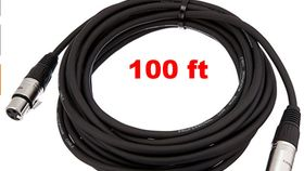 Image of a 100ft XLR Cable