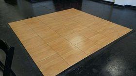 Image of a 12' x 12' Portable Oak Dance Floor