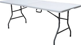 Image of a 6 ' Folding White Table