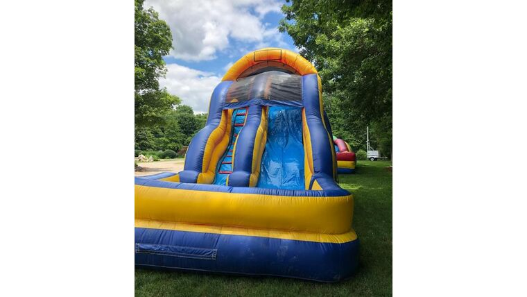 Picture of a 18' Inflatable Water Slide