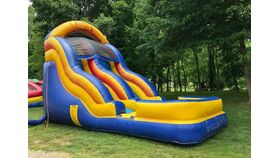 18' Inflatable Water Slide image