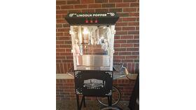 Image of a Nostalgic Popcorn Machine (Large 5')