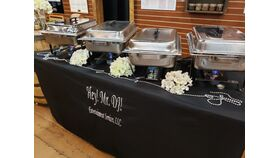 Image of a Silver Chafing Pan Sets for Catering Line