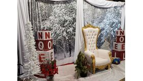 Image of a Christmas Backdrop 5ft x 7ft