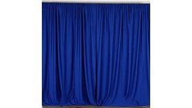 Image of a Royal Blue Backdrop 10ft x 10ft