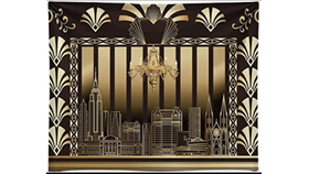 Image of a Great Gatsby 10ft x 8ft
