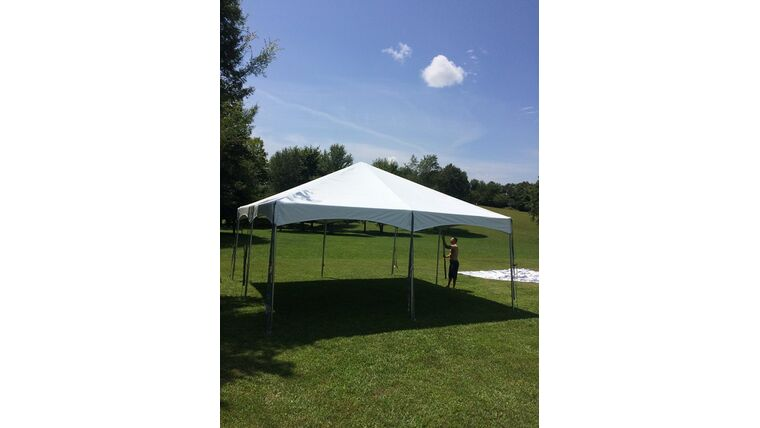 Picture of a 30 x 30 Pole Tents