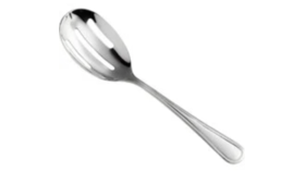Image of a Stainless Steel Extra Long Slotted Spoons