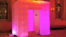 Image of a Gold Photo Booth Prints Package