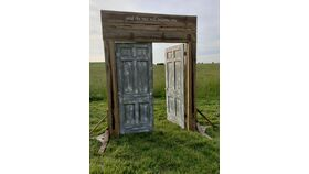 Image of a Rustic Wedding Doors