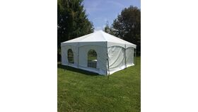 Image of a Cathedral Style Tent Wall