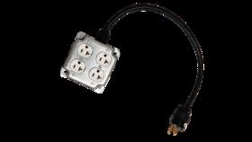 Image of a 4 Way Power Plug