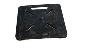 """Image of a 24"""" Steel Truss Base Plate"""