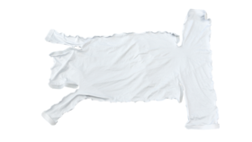 Image of a 3 Way 90 Degree White T Cover