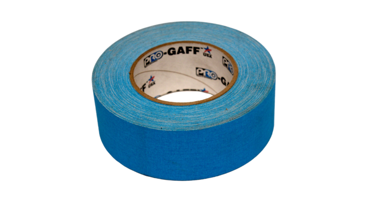 """Picture of a 2"""" Blue Gaff Tape"""