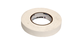 "Image of a 1"" White Gaff Tape"