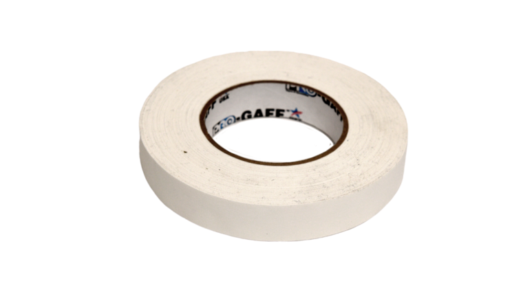 """Picture of a 1"""" White Gaff Tape"""