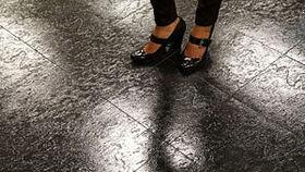 Image of a 12' x 12' Black Indoor/Outdoor Dance Floor