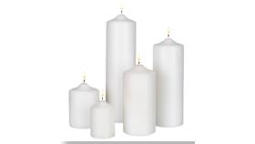 "Image of a 12"" Pillar Candle"
