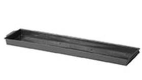 Image of a Double Brick Tray (Black)