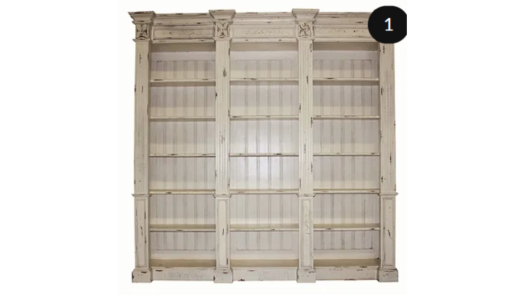 Picture of a Donatella - 3 Section Display Shelves