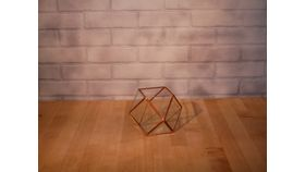 Image of a Copper Geometric Terrariums