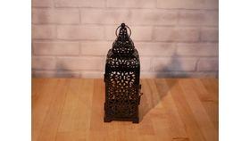 Image of a Black Moroccan Lantern