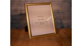 Image of a Large Gold Frame