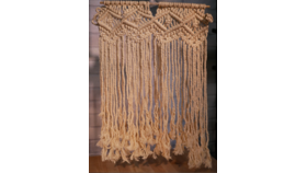 Image of a Hanging Macrame