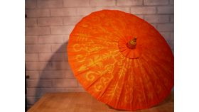 Image of a Red Chinese Umbrella