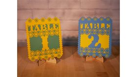 Image of a Fiesta Table Numbers
