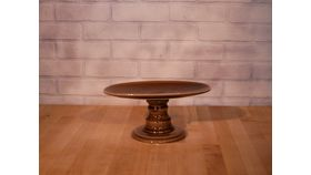 Image of a Brown Ceramic Stand