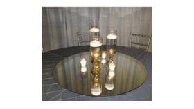 """30"""" Round Centerpiece Mirrors image"""