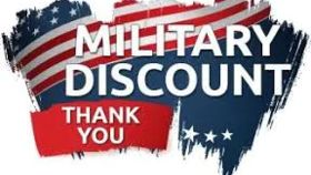 Image of a Military Discount