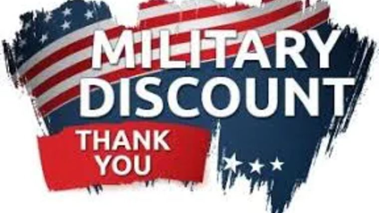 Picture of a Military Discount