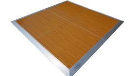 Image of a 12' x 12' Wood Dance Floor