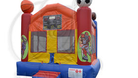 Image of a Sports Arena Bounce House