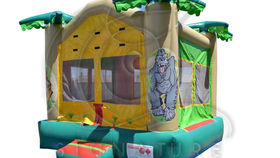 Image of a Jungle Bounce House