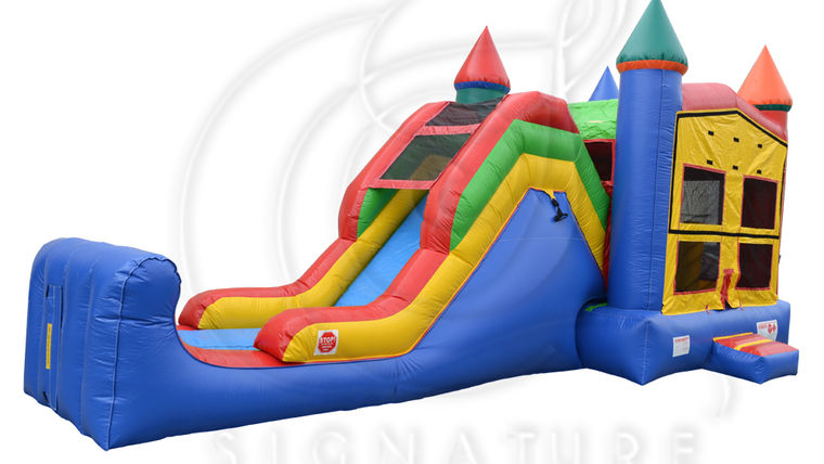Picture of a 5 in 1 Super Combo Castle Bounce House
