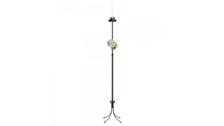 Picture of a 1 Light Freestanding Aisle Candelabra